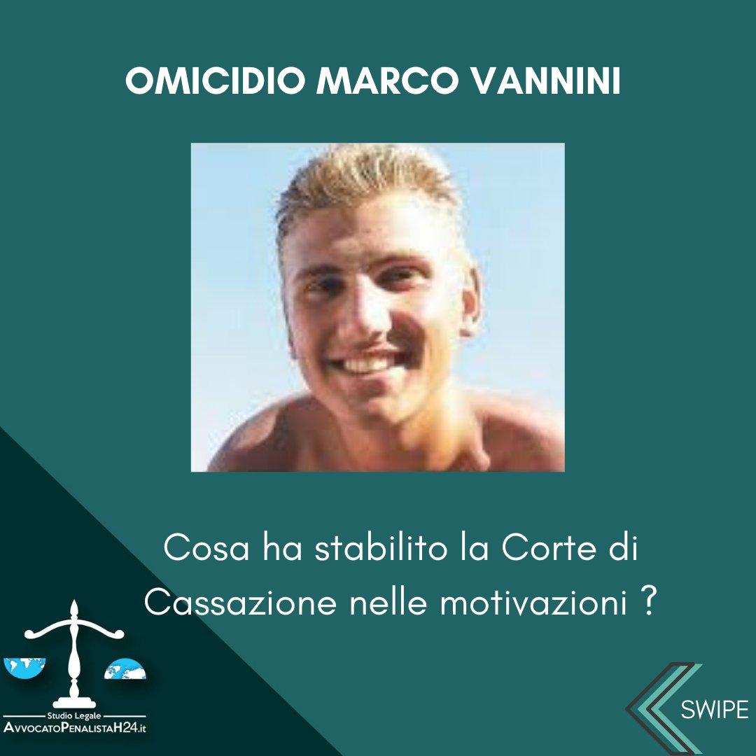 Omicidio Vannini: Cosa ha affermato la corte di cassazione?