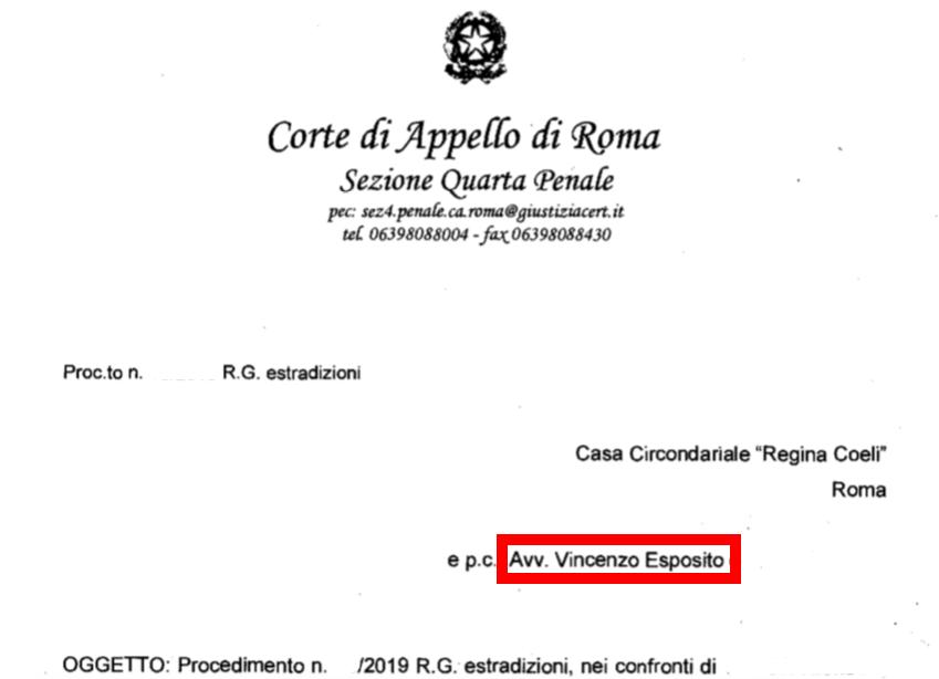 Avvocato Vincenzo Esposito